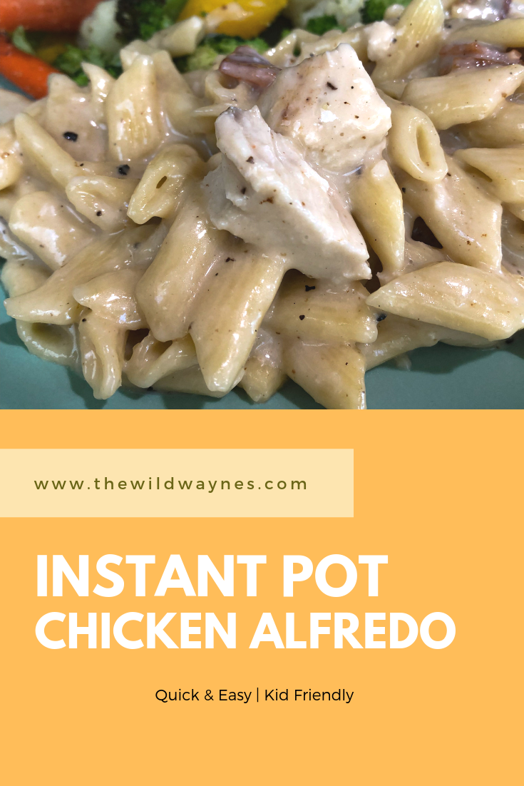 Instant Pot Chicken Alfredo Recipe